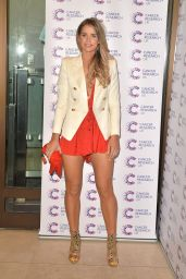 Vogue Williams Shows Off Her Legs – James Ingham's Jog-On to Cancer Event in London 4/7/2016