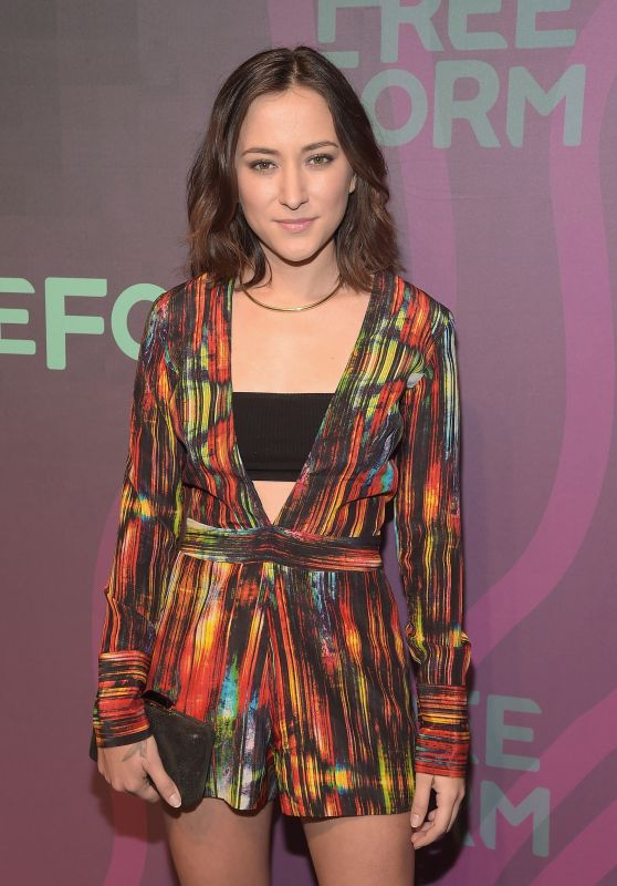 Zelda Williams - 2016 ABC Freeform Upfront in New York City