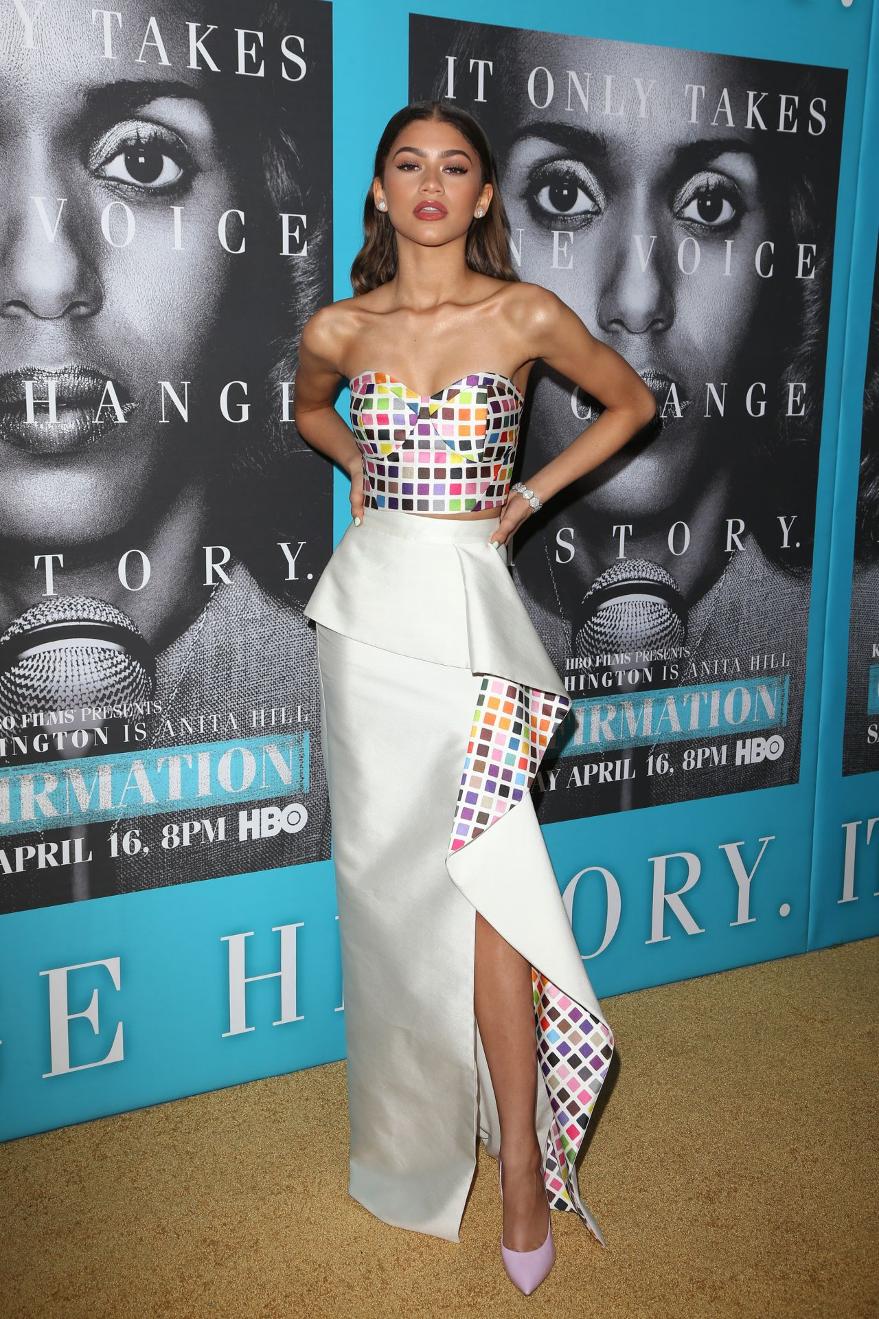 Zendaya Coleman Confirmation Premiere In Hollywood