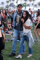 Zoe Kravitz at Coachella 2016 in Indio 4/15/2016