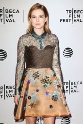 Zoey Deutch - Vincent N Roxxy Premiere - 2016 Tribeca Film Festival in NYC
