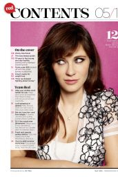 Zooey Deschanel - Redbook Magazine May 2016 Issue