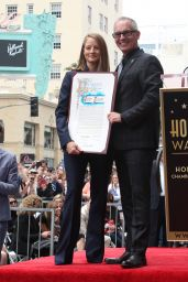 Jodie Foster - Honored With Star On The Hollywood Walk Of Fame 5/4/2016