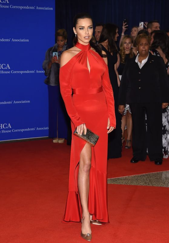 Adriana Lima – White House Correspondents' Dinner in Washington DC 4/30/2016