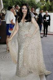 Aishwarya Rai Classy Fashion - Leaving The Martinez Hotel in Cannes, France 5/14/2016