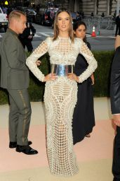 Alessandra Ambrosio - 2016 Met Gala Held at the Metropolitan Museum of Art New York