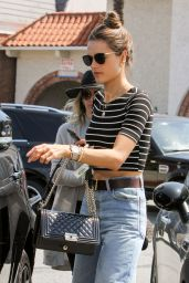 Alessandra Ambrosio Street Style - Out in Los Angeles 5/24/2016