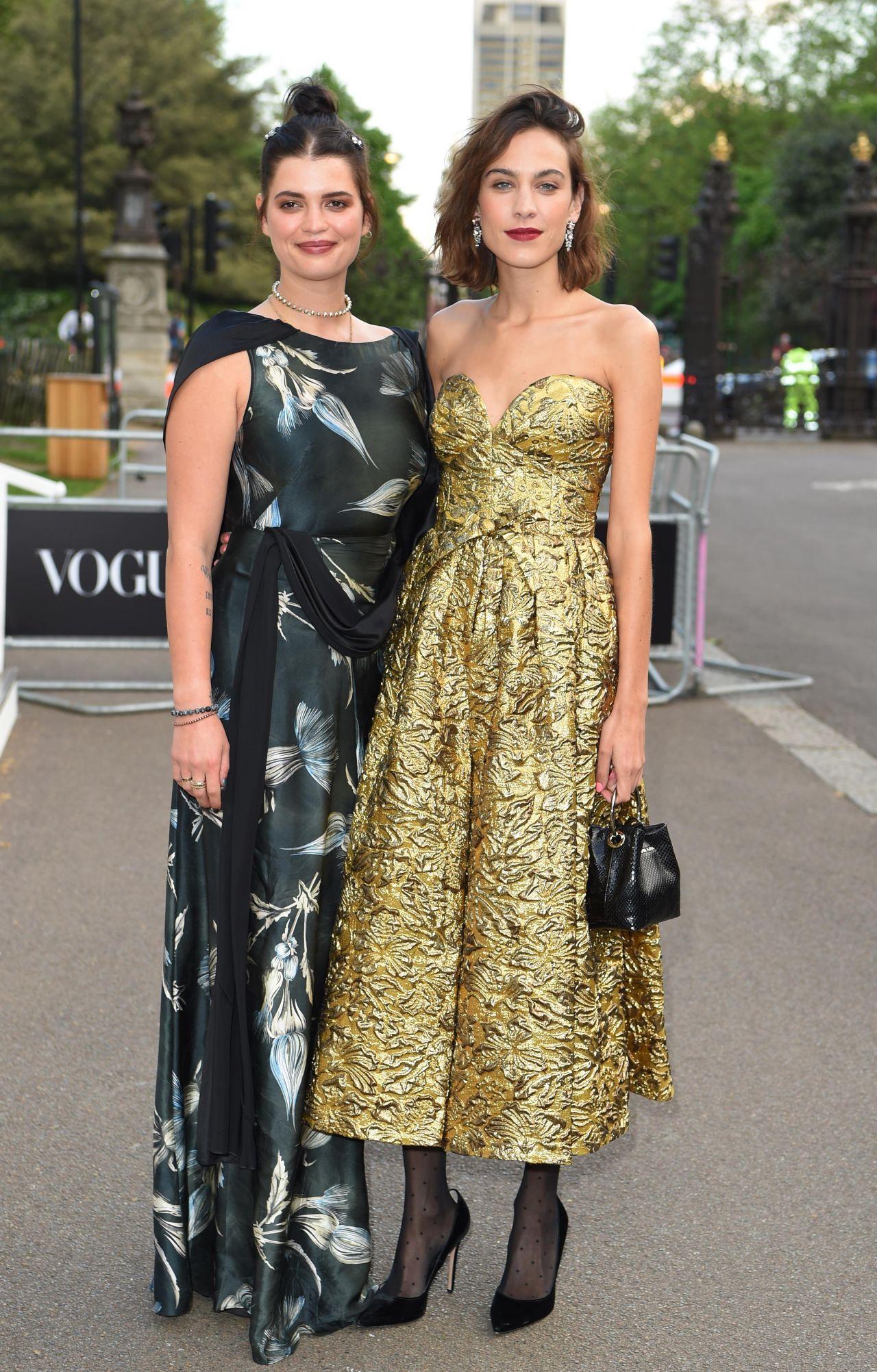 Alexa Chung – British Vogue 100th Anniversary Gala Dinner in