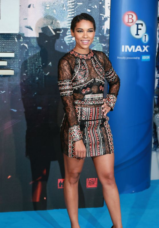 Alexandra Shipp – X-Men: Apocalypse Premiere in London, UK 5/9/2016