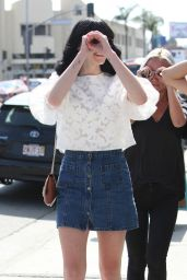 Ali Lohan - Out in West Hollywood 5/28/2016