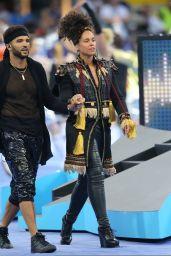 Alicia Keys Gives a Concert the UEFA Champions League Final at Milan, Italy 5/28/2016