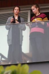 Alicia Vikander on Her Hotel Balcony Rio de Janeiro 5/27/2016