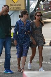 Alicia Vikander Summer Outfit Ideas - Takes a helicopter Ride in Rio de Janeiro 5/29/2016