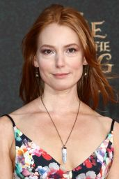 Alicia Witt – 'Alice Through The Looking Glass' Premiere in Hollywood 5/23/2016