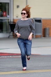 Alyson Hannigan - Shopping in Los Angeles 5/19/2016