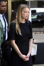 Amber Heard - Leaves Court in Los Angeles 5/27/2016
