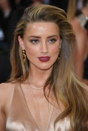 Amber Heard – Met Costume Institute Gala 2016 in New York