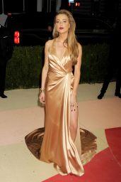 Amber Heard – Met Costume Institute Gala 2016 in New York