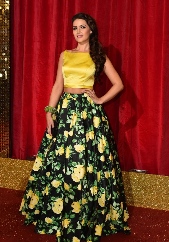 Anna Passey – British Soap Awards 2016 in London, UK