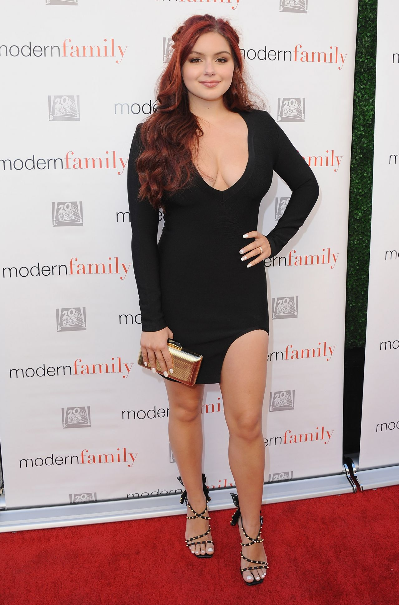 Ariel Winter Abc S Modern Family Atas Emmy Event In Los