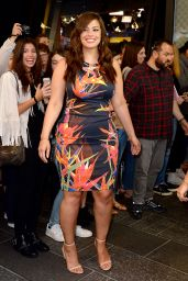 Ashley Graham - Bringing Her New Swimsuit Line to Good Morning America in New York 5/23/2016