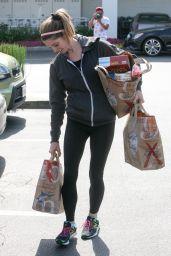 Ashley Greene in Spandex - Leaving Bristol Farms in West Hollywood 5/11/2016