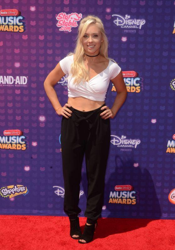 Ashley Nichole – 2016 Radio Disney Music Awards at Microsoft Theater in Hollywood