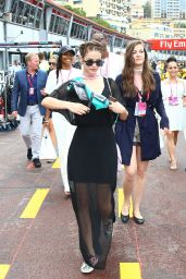 Barbara Palvin - F1 Grand Prix of Monaco in Monte-Carlo 5/29/2016