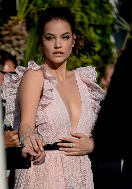 Barbara Palvin - Leaving Hotel Martinez in Cannes 5/17/2016