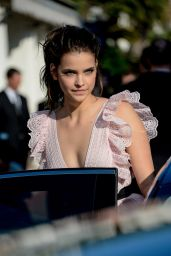 Barbara Palvin - Leaving Hotel Martinez in Cannes 5/17/2016