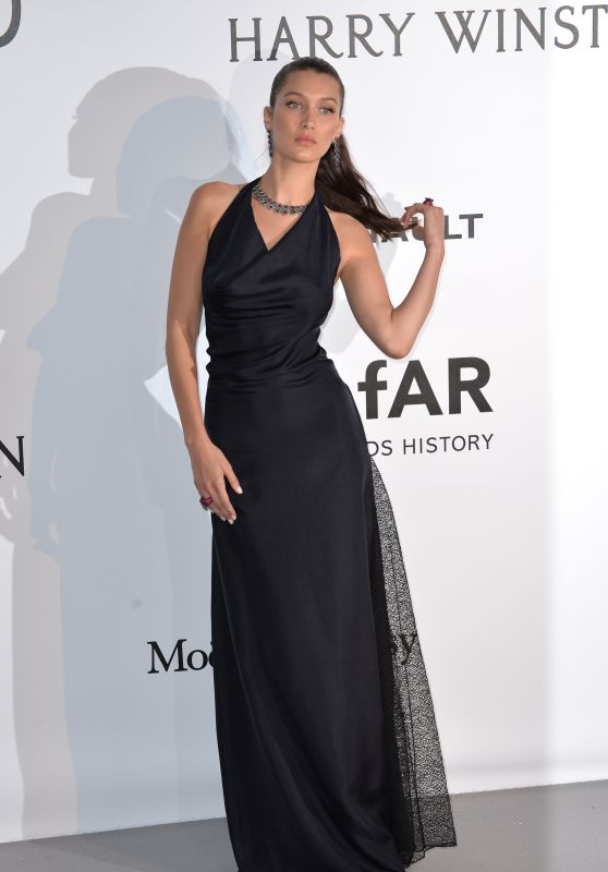 Bella Hadid – amfAR's Cinema Against AIDS Gala in Cap d'Antibes, France, 5/19/2016
