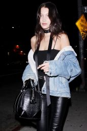 Bella Hadid Night Out Style - Leaving The Nice Guy in West Hollywood 5/23/2016