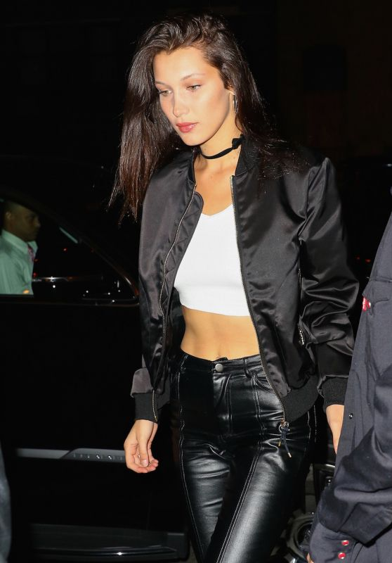 Bella Hadid Night Out Style - NYC 4/30/2016