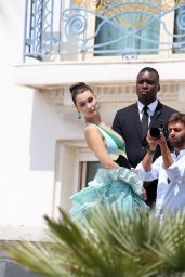 Bella Hadid - Photoshoot Set in Cannes, May 2016