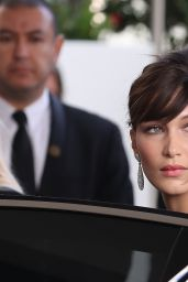 Bella Hadid Red Carpet Style - Leaving her Hotel in Cannes 5/18/2016