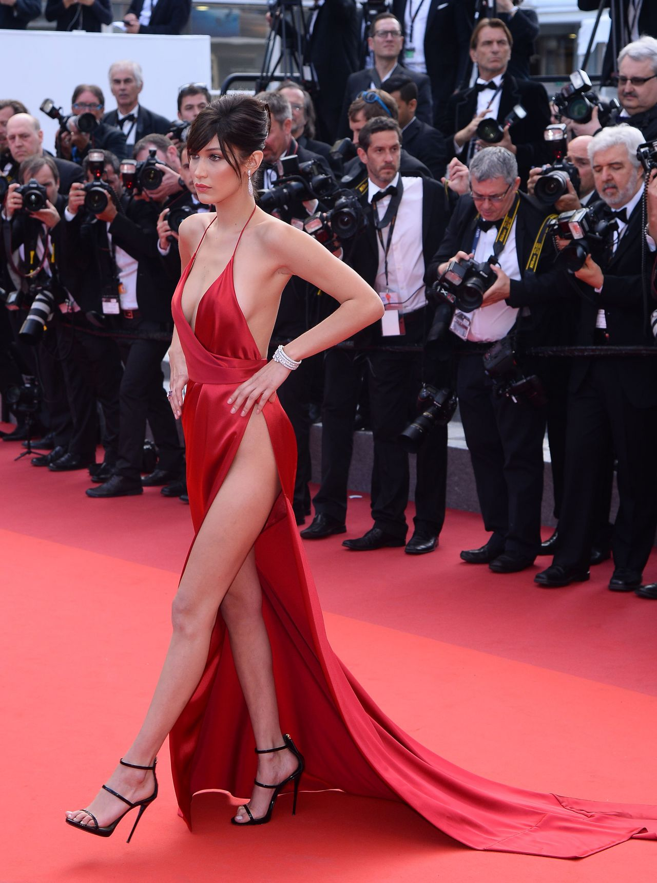 Bella Hadid The Unknown Girl Premiere At 69th Cannes