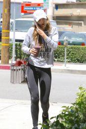 Bella Thorne in Spandex - Studio City 5/2/2016