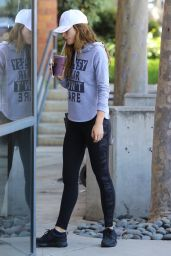 Bella Thorne in Spandex - Studio City 5/2/2016