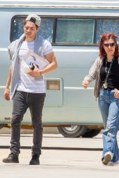 Bella Thorne - Plan a Fun Day of Skydiving For Their Anniversary, Los Angeles 5/23/2016