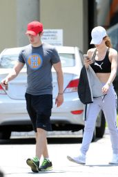 Bella Thorne Street Style - Out & About in Studio City 5/30/2016
