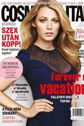 Blake Lively - Cosmopolitan Magazine Hungary June 2016 Issue