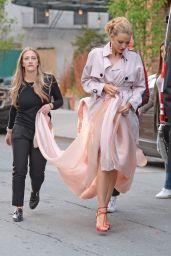 Blake Lively - Leaving Her Hotel in New York 5/2/2016