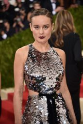 Brie Larson – Met Costume Institute Gala 2016 in New York