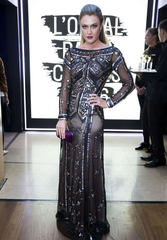 Camilla Kerslake – L'Oreal Party at 2016 Cannes Film Festival 5/18/2016
