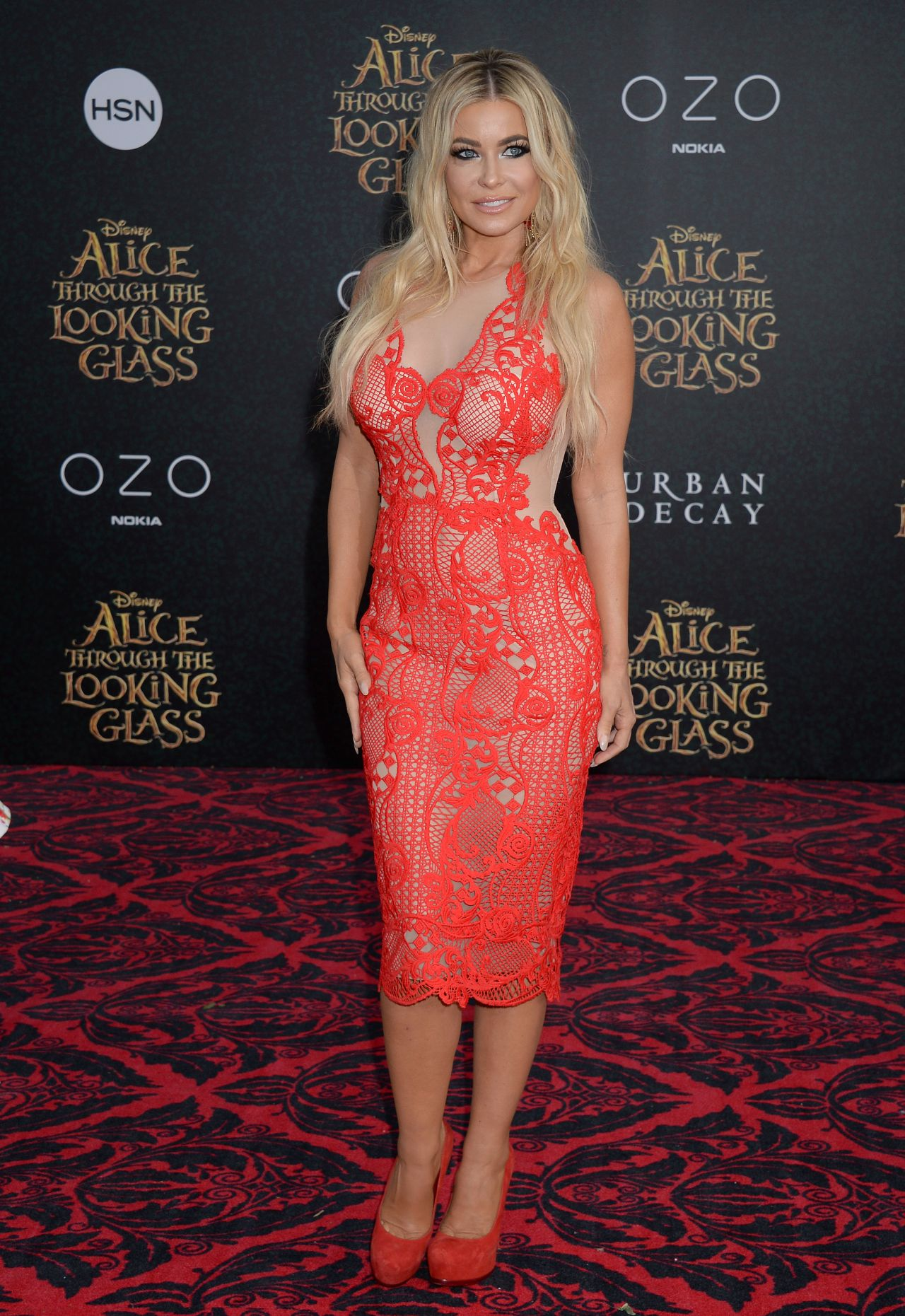 Celebrity see through dresses on red carpet 2018 online for