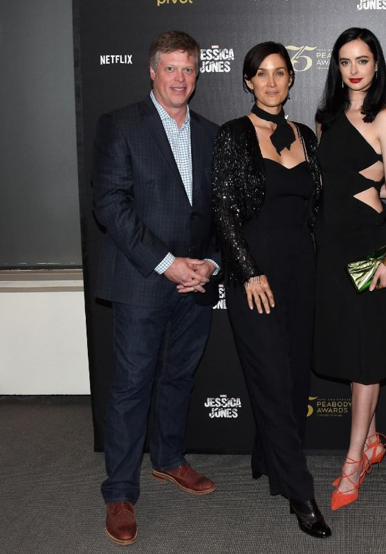 Carrie-Anne Moss, Krysten Ritter - Cast&Crew Discussion with Marvel