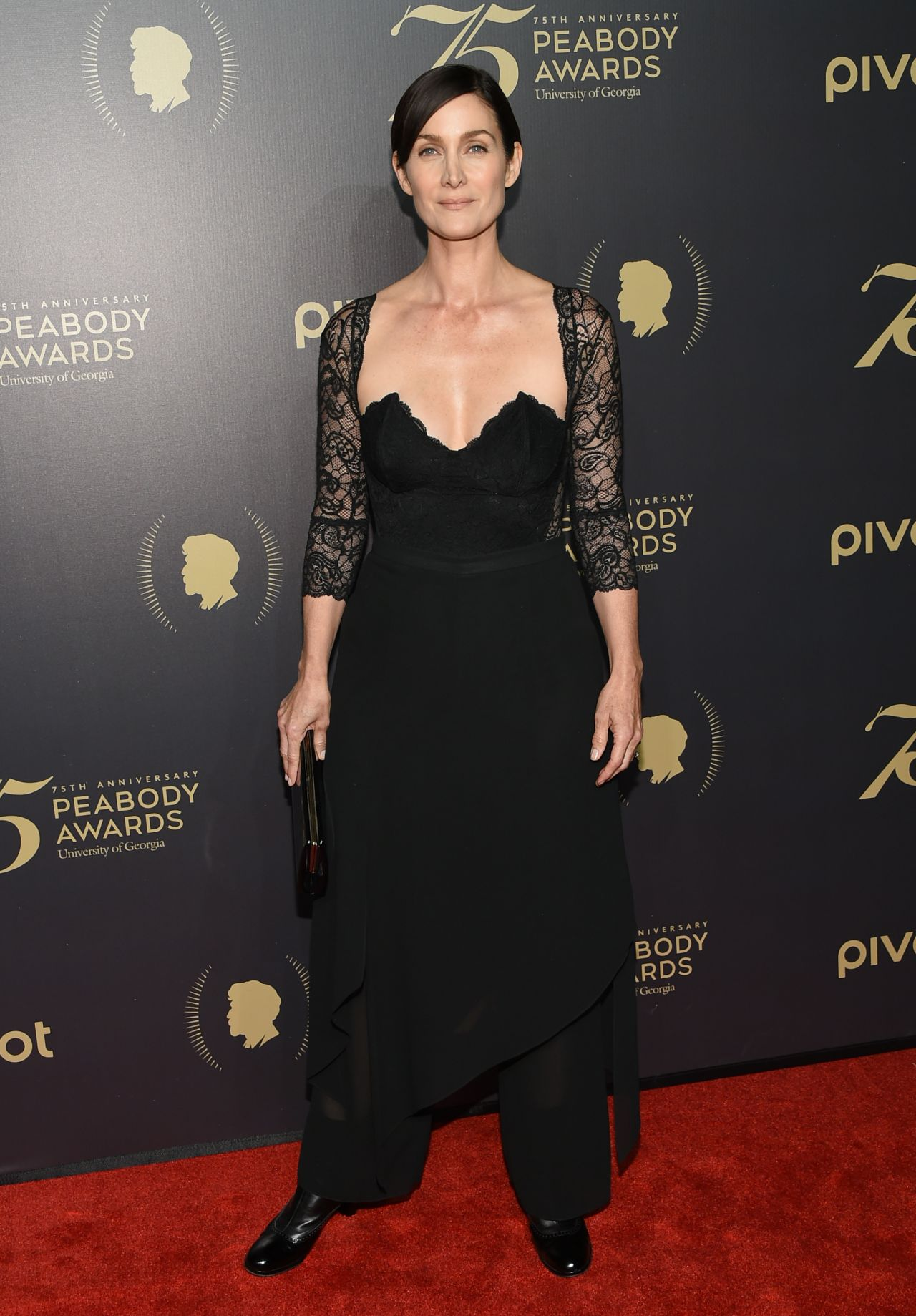 Carrie-Anne Moss - Peabody Awards Ceremony at Cipriani
