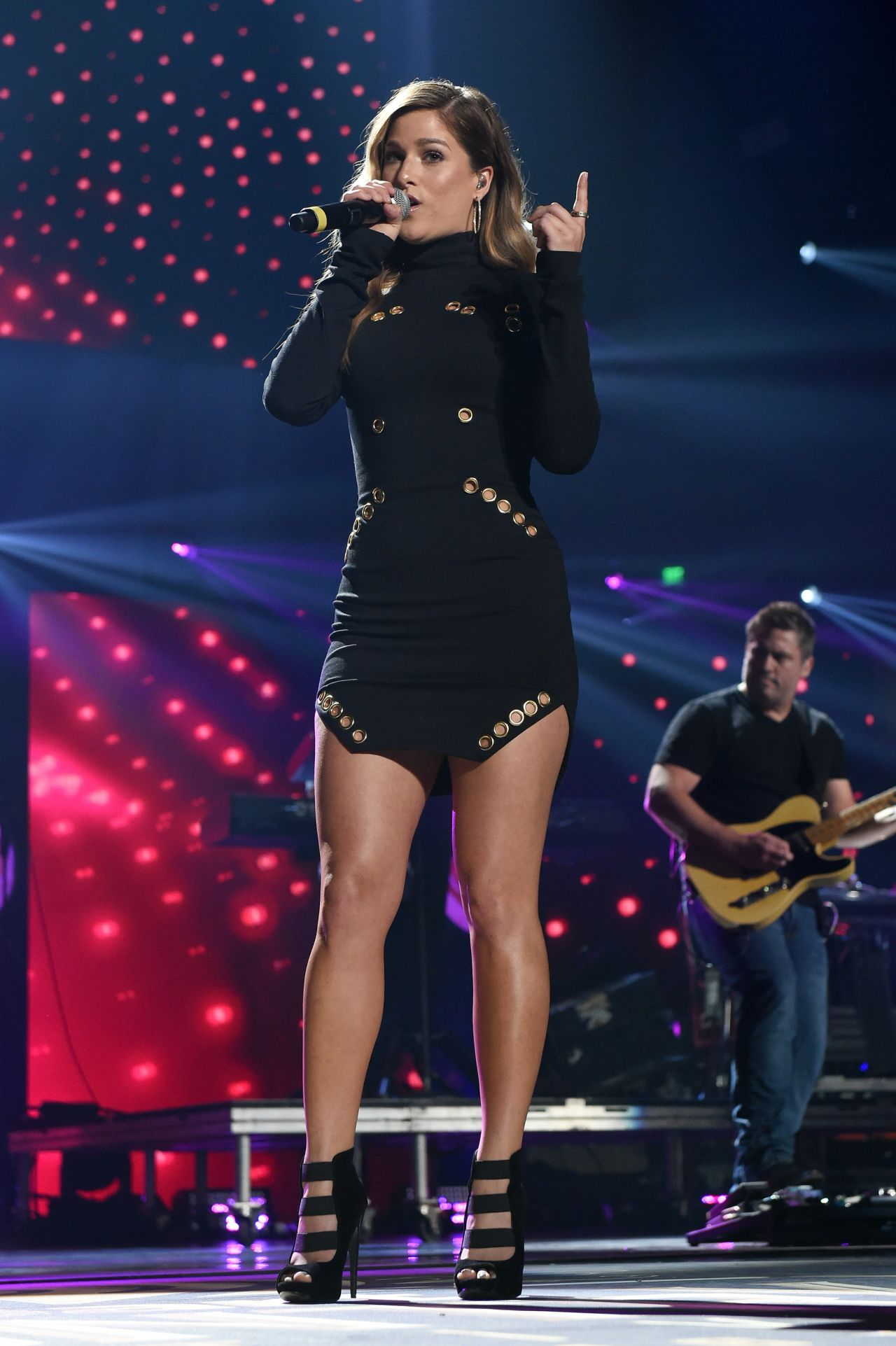 Cassadee Pope Performs At 2016 Iheartcountry Festival In
