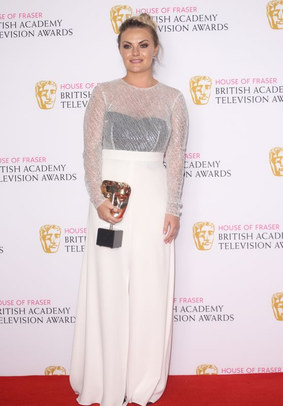 Chanel Cresswell – British Academy Television Awards BAFTAS 2016 in London
