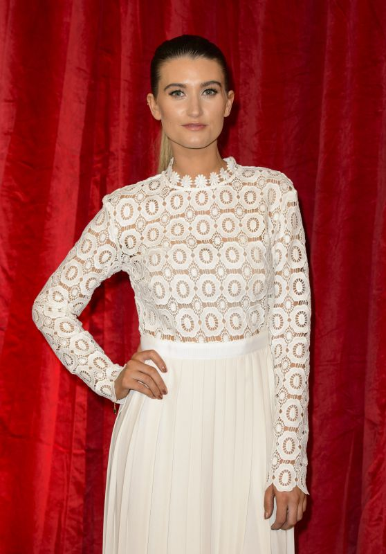 Charley Webb – British Soap Awards 2016 in London, UK